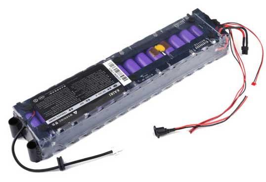 Batteri till elsparkcykel